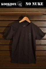 【SPECIAL SALE!!-KOOK BOX】NO NUKE-Tシャツ (BLACK X BLACK/3サイズ)