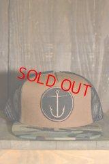 【 SALE 20%OFF】[CAPTAIN FIN Co.] OG ANCHOR 5 PANEL TRUCKER Hat