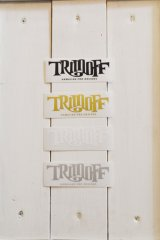 【SHOPオリジナルステッカー】 TRIMOFF SMALL Stickers4color