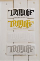 【SHOPオリジナルステッカー】 TRIMOFF BIG Stickers4color