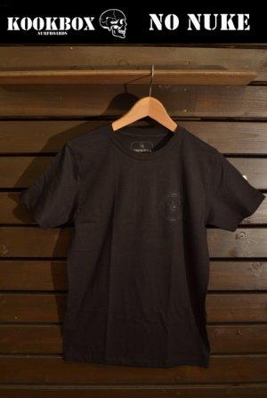 画像1: 【SPECIAL SALE!!-KOOK BOX】NO NUKE-Tシャツ (BLACK X BLACK/3サイズ)