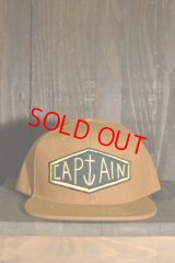 【SALE 20%OFF】[CAPTAIN FIN Co.] BULGE 6Panel Adjustable Hat