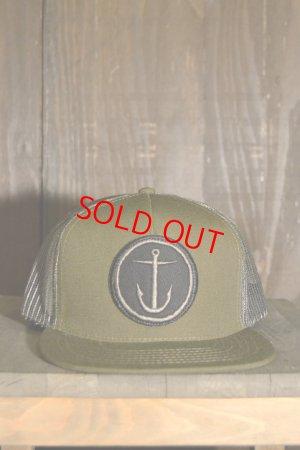 画像1: 【SALE 20%OFF】[CAPTAIN FIN Co.] OG ANCHOR Adjustable Trucker Hat