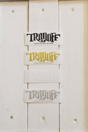 画像1: 【SHOPオリジナルステッカー】 TRIMOFF SMALL Stickers4color