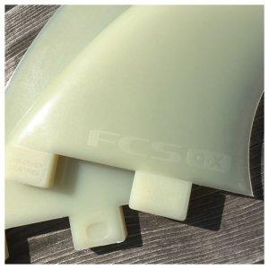 画像3: 【TRIMOFFお勧め2+1用】FCS GXロング用サイドフィン Glass Flex