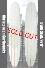 """【条件付送料無料】クリステンソン・DEAD SLED 9'9""""/1""""BALSA 3STRINGER【Christenson Surfboard】"""