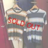 【SALE-RVCA-FW】ルーカ■メンズ 【CAMPBELL BROTHERS】 OXNARD STRIPE Tシャツ(2カラー/3サイズ)
