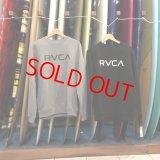 【SALE-RVCA-FW】ルーカ■メンズ BIG RVCA CR トレーナー(2カラー/3サイズ)