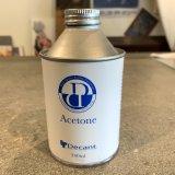 DECANT/ACETONE(洗浄液)