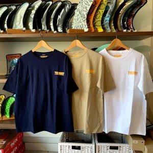画像1: 【NEWロゴ】TRIMOFF ビッグシルエットTシャツ:5.6ozポッケット付き(3color/3size)