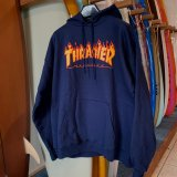 【THRASHER】 FLAME LOGO HOODIE(1color/3size)