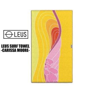 画像1: 【LEUS】BEACH ECO TOWEL -CARISSA MOORE-【LIMITED EDITION】