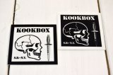 KOOKBOX スクエアー・スモールステッカー(2カラー)