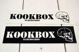 KOOKBOX SURFBOARD スモールステッカー(2カラー)