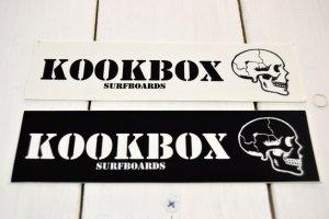 画像1:  KOOKBOX SURFBOARD スモールステッカー(2カラー)