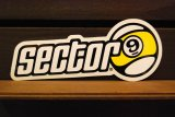 【SECTER9】sector9 sticker/サイズ255mm(BIG)